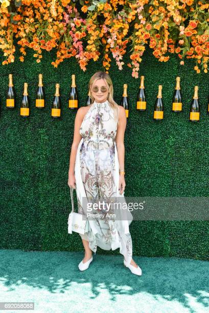 Danielle Bernstein attends The Tenth Annual Veuve Clicquot Polo Classic Arrivals at Liberty State Park on June 3 2017 in Jersey City New Jersey