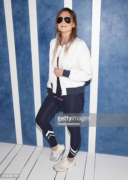Danielle Bernstein attends Tory Sport Store Opening at Tory Sport on April 6 2016 in New York City