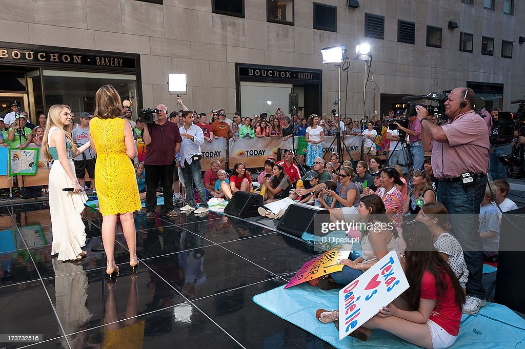 <a gi-track='captionPersonalityLinkClicked' href=/galleries/search?phrase=Danielle+Bradbery&family=editorial&specificpeople=10618841 ng-click='$event.stopPropagation()'>Danielle Bradbery</a> performs at NBC's TODAY Show on July 17, 2013 in New York City.