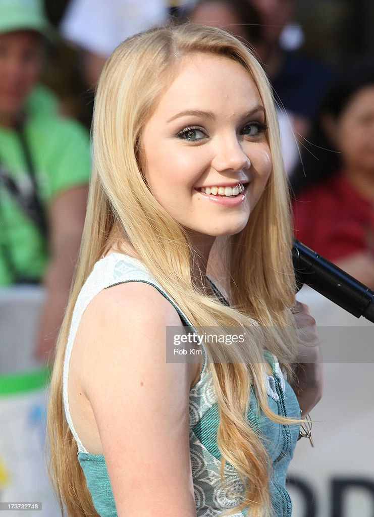 Danielle Bradbery performs at NBC's TODAY Show on July 17, 2013 in New York City.