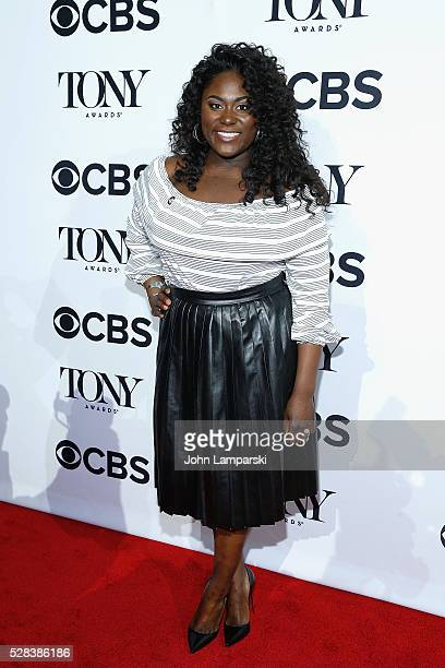 Danielle Brooks attends 2016 Tony Awards Meet The Nominees Press Junket at Diamond Horseshoe at the Paramount Hotel on May 4 2016 in New York City