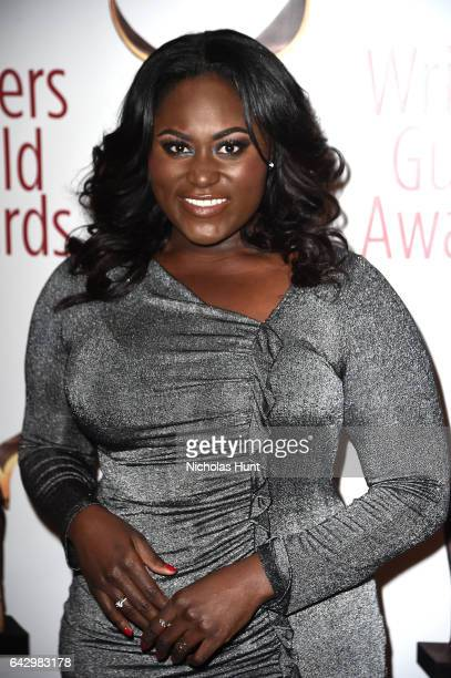 Danielle Brooks attends 69th Writers Guild Awards New York Ceremony at Edison Ballroom on February 19 2017 in New York City