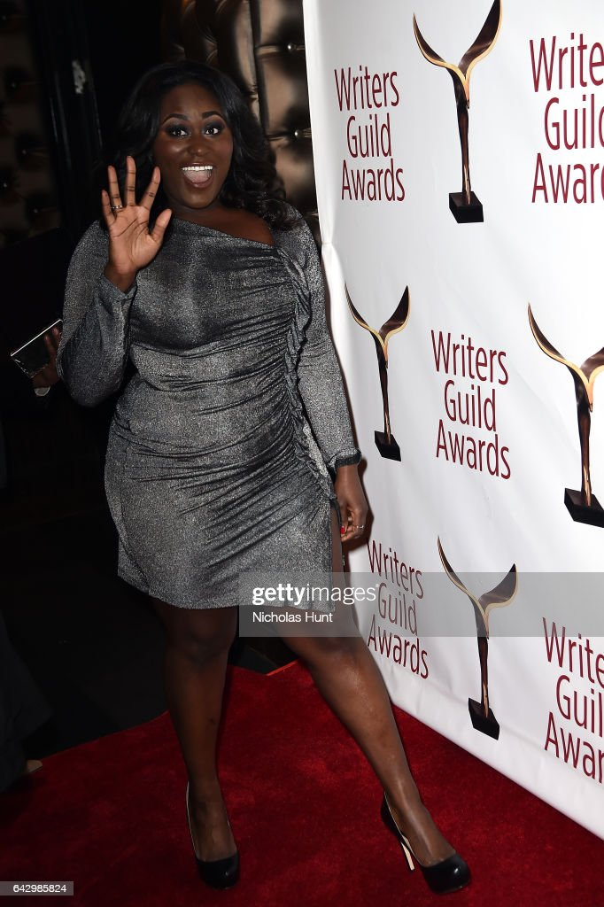 Danielle Brooks attends 69th Writers Guild Awards New York Ceremony at Edison Ballroom on February 19, 2017 in New York City.