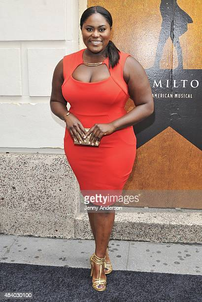 Danielle Brooks attends 'Hamilton' Broadway Opening Night at Richard Rodgers Theatre on August 6 2015 in New York City