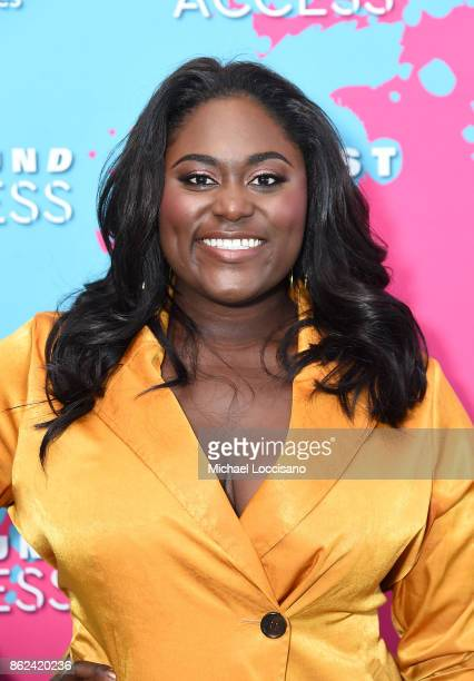 Danielle Brooks attends Hearst Magazines' Unbound Access MagFront at Hearst Tower on October 17 2017 in New York City