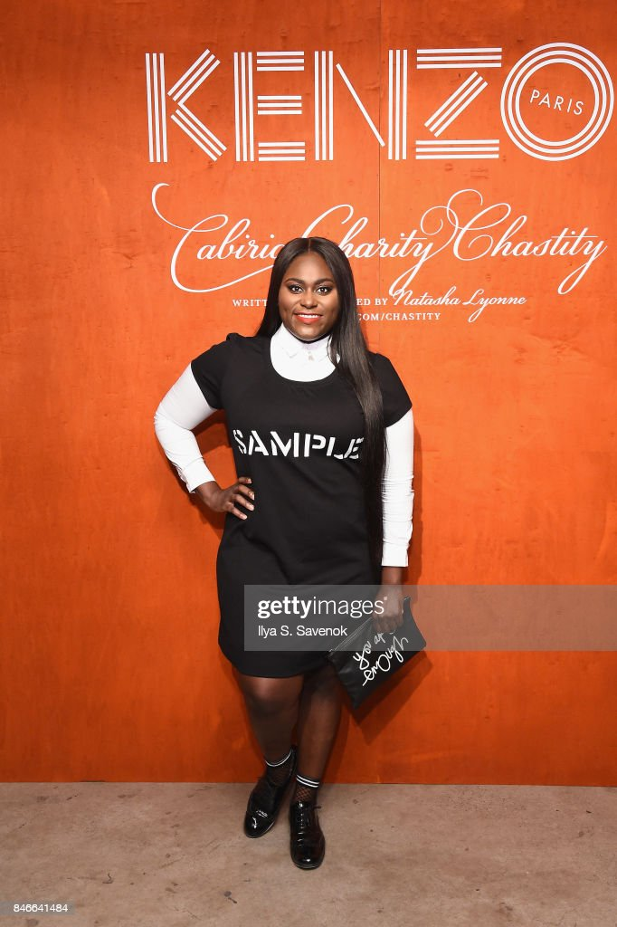 Danielle Brooks attends KENZO, Humberto Leon, Carol Lim And Natasha Lyonne Premiere 'Cabiria, Charity, Chastity' In New York City at Public Arts on September 13, 2017 in New York City.