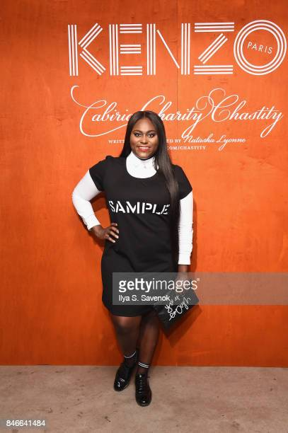 Danielle Brooks attends KENZO Humberto Leon Carol Lim And Natasha Lyonne Premiere 'Cabiria Charity Chastity' In New York City at Public Arts on...