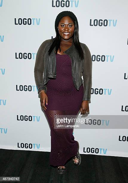 Danielle Brooks attends 'Laverne Cox Presents The T Word' Logo TV Premiere Party Screening at Paramount Screening Room at the Viacom Building on...