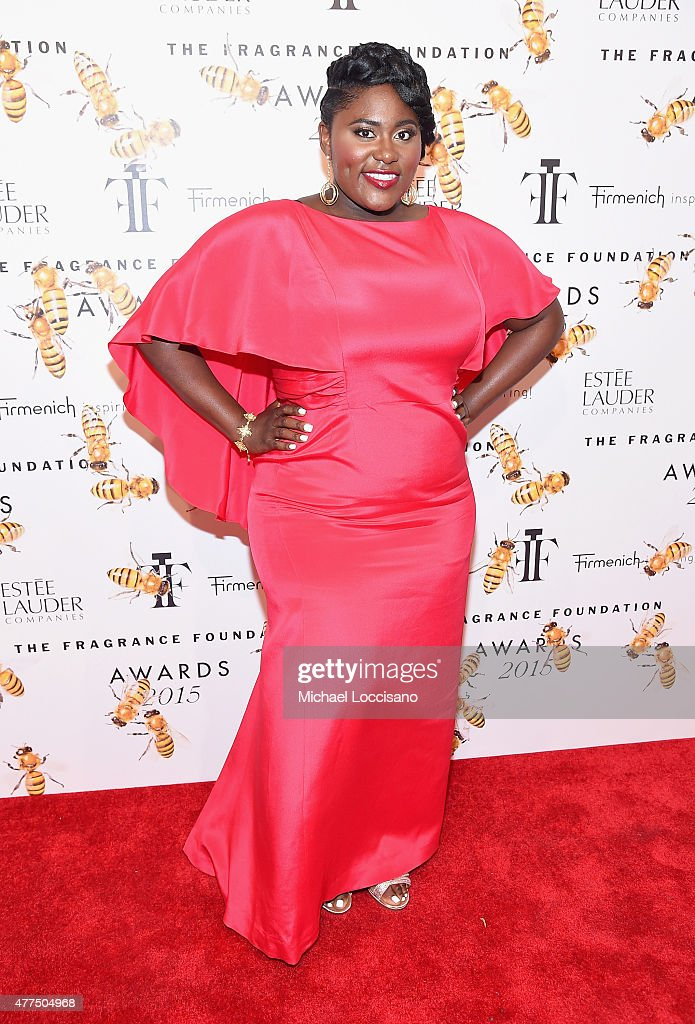 Danielle Brooks attends the 2015 Fragrance Foundation Awards at Alice Tully Hall at Lincoln Center on June 17 2015 in New York City