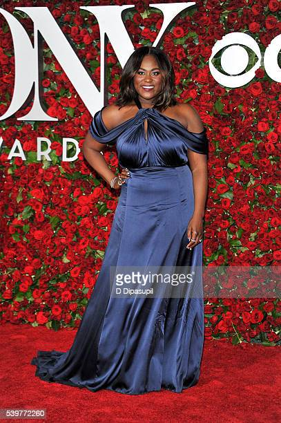 Danielle Brooks attends the 70th Annual Tony Awards at the Beacon Theatre on June 12 2016 in New York City
