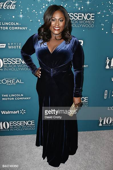 Danielle Brooks attends the Essence 10th Annual Black Women In Hollywood Awards Gala at the Beverly Wilshire Four Seasons Hotel on February 23 2017...