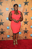 Danielle Brooks attends the 'Hamilton' Broadway Opening Night at Pier 60 on August 6 2015 in New York City