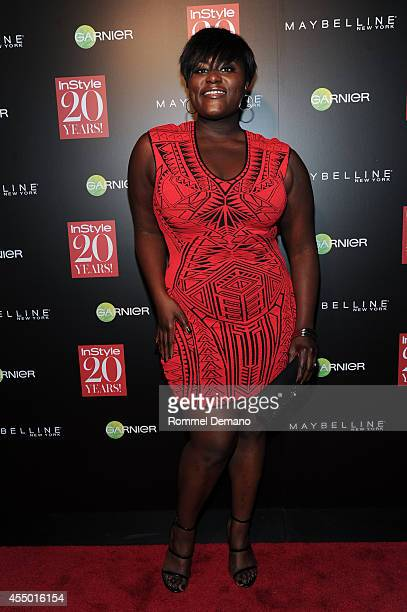 Danielle Brooks attends the Instyle Hosts 20th Anniversary Party at Diamond Horseshoe at the Paramount Hotel on September 8 2014 in New York City