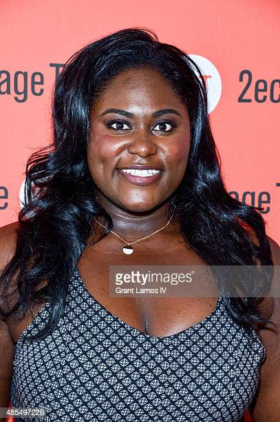 Danielle Brooks attends the 'Whorl Inside A Loop' offbroadway opening night after party at Four at Yotel on August 27 2015 in New York City