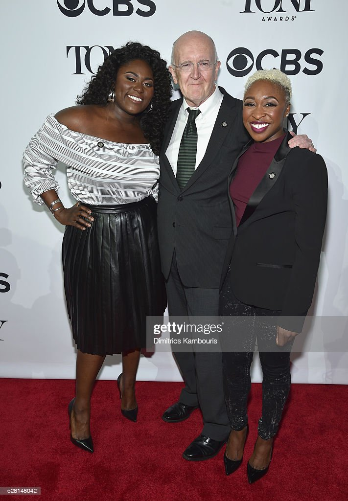 <a gi-track='captionPersonalityLinkClicked' href=/galleries/search?phrase=Danielle+Brooks&family=editorial&specificpeople=8868624 ng-click='$event.stopPropagation()'>Danielle Brooks</a>, John Doyle, and <a gi-track='captionPersonalityLinkClicked' href=/galleries/search?phrase=Cynthia+Erivo&family=editorial&specificpeople=8553747 ng-click='$event.stopPropagation()'>Cynthia Erivo</a> attend the 2016 Tony Awards Meet The Nominees Press Reception on May 4, 2016 in New York City.