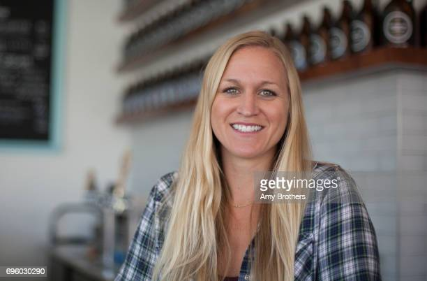 DENVER CO OCTOBER Danielle Brooks owner of American Cultures Tap at America Cultures Taproom on October 19 2016