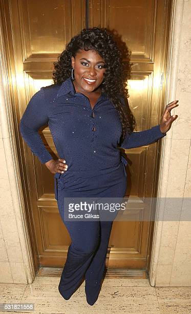 Danielle Brooks poses at the Manhattan Theatre Club's 2016 Spring Gala at Cipriani 42nd Street on May 16 2016 in New York New York