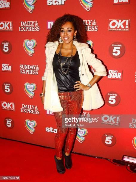 Danielle Brown attends the 60th Birthday Celebration of Richard Desmond at Old Billingsgate Market on December 8 2011 in London England