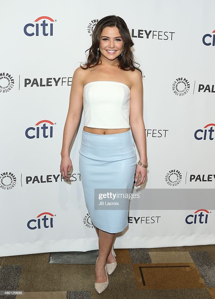 Danielle Campbel attends the 2014 PaleyFest 'The Vampire Diaries' 'The Originals' held at Dolby Theatre on March 22 2014 in Hollywood California