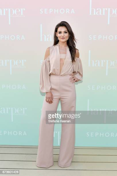 Danielle Campbell attends harper x Harper's BAZAAR May Issue Event Hosted by The Stallone Sisters and Amanda Weiner Alagem at Mama Shelter Hollywood...