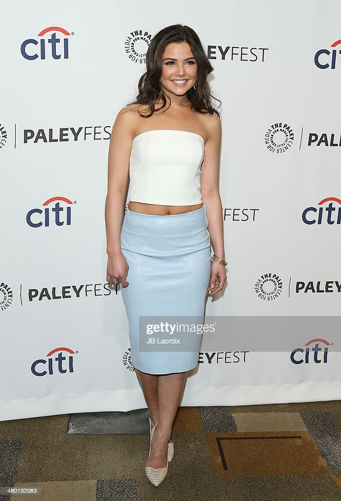 Danielle Campbell attends the 2014 PaleyFest - 'The Vampire Diaries' & 'The Originals' held at Dolby Theatre on March 21, 2014 in Hollywood, California.