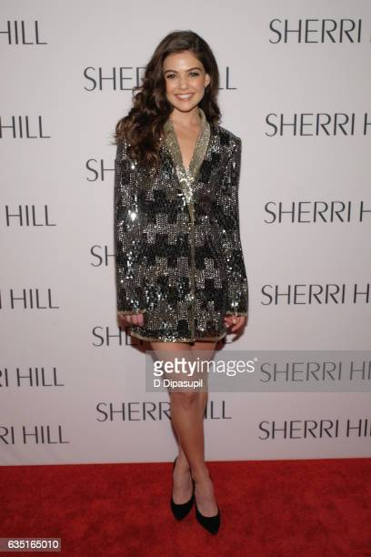 Danielle Campbell attends the Sherri Hill NYFW Fall 2017 Runway Show at Gotham Hall on February 13 2017 in New York City