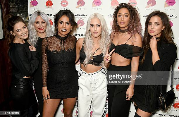 Danielle Campbell Lou Teasdale Krystal Rodriguez Lottie Tomlinson Aimee Kritikos and Sophia Smith attend as Lottie Tomlinson hosts a party to launch...