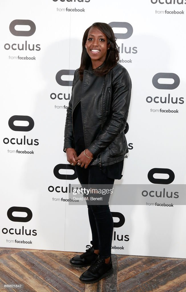 Danielle Carter attends the Oculus Game Days VIP opening night, hosted by the Facebook owned virtual reality company Oculus, on March 9, 2017 in London, England.