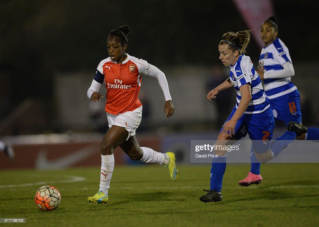 WSL 1: Arsenal Ladies FC v Reading FC Women