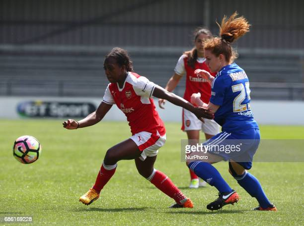 Danielle Carter of Arsenal Ladiesduring Women's Super League 1 Spring Series match between Arsenal Ladies against Birmingham City Ladies at The Hive...