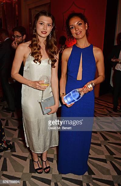 Danielle Copperman and Cassandra Stavrou winner of the 2016 Veuve Clicquot New Generation Award attend the Veuve Clicquot Business Woman Award at The...
