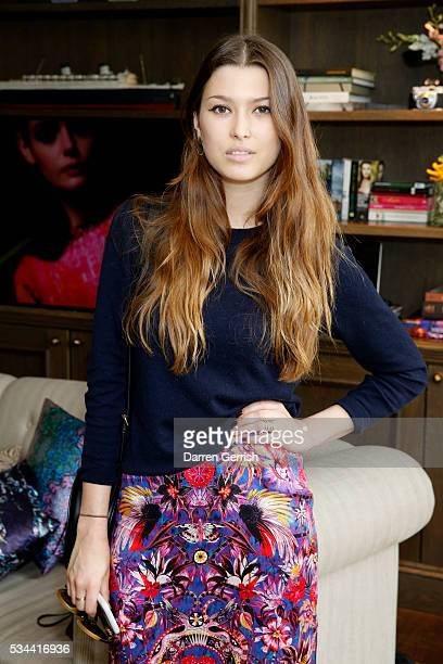 Danielle Copperman attends the exclusive preview of the new USA Pro and Matthew Williamson yoga and active wear collaboration at the South Kensington...