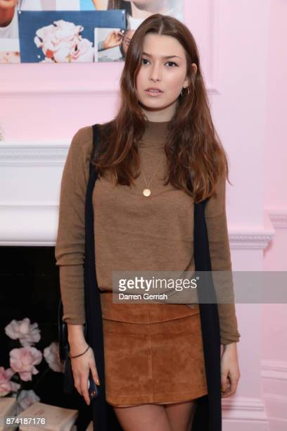 Danielle Copperman attends the Glossier UK launch party on November 14 2017 in London England