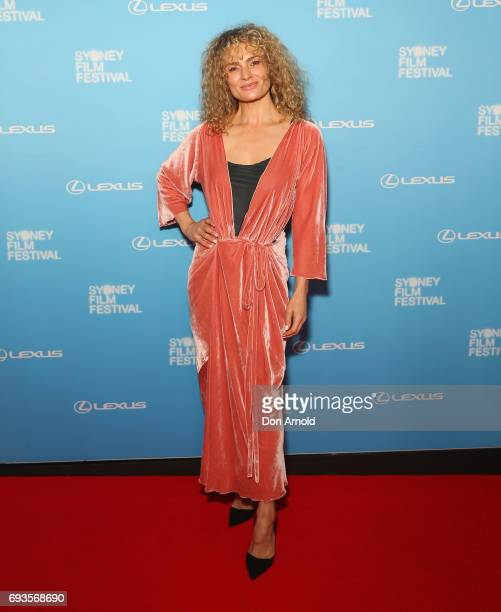 Danielle Cormack arrives ahead of the Sydney Film Festival Opening Night Gala at State Theatre on June 7 2017 in Sydney Australia