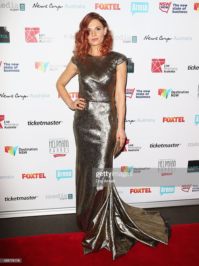 Danielle Cormack arrives at the 2014 Helpmann Awards at the Capitol Theatre on August 18, 2014 in Sydney, Australia.