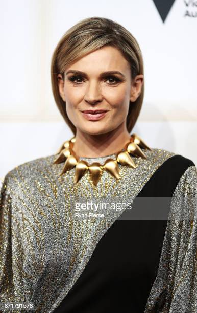 Danielle Cormack arrives at the 59th Annual Logie Awards at Crown Palladium on April 23 2017 in Melbourne Australia