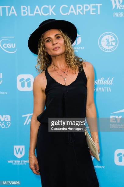 Danielle Cormack arrives at Tropfest on February 11 2017 in Sydney Australia