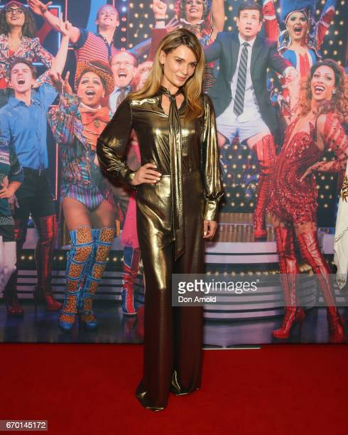 Danielle Cormack arrives for the opening night of Cyndi Lauper's Kinky Boots at Capitol Theatre on April 19 2017 in Sydney Australia