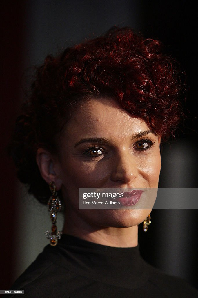 Danielle Cormack attends the 2nd Annual AACTA Awards Luncheon at The Star on January 28, 2013 in Sydney, Australia.