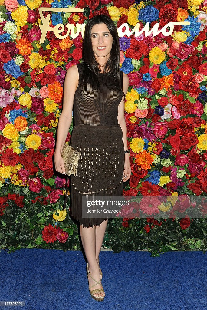 Danielle Corona attends the Ferragamo Celebrates The Launch Of L'Icona Highlighting The 35th Anniversary Of Vara at The McKittrick Hotel, Home of Sleep No More on April 30, 2013 in New York City.