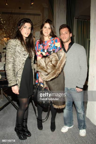 Danielle Corona Caroline Tell and Jason Salstein attend HUNTING SEASON at EDON MANOR Hosted by Kathryn Neale Shaffer and Alexandra Fritz at Edon...