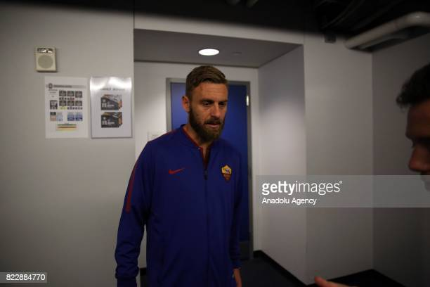 Danielle De Rossi of AS Roma is seen after a friendly match between AS Roma and Tottenham Hotspur within International Champions Cup 2017 at Redbull...