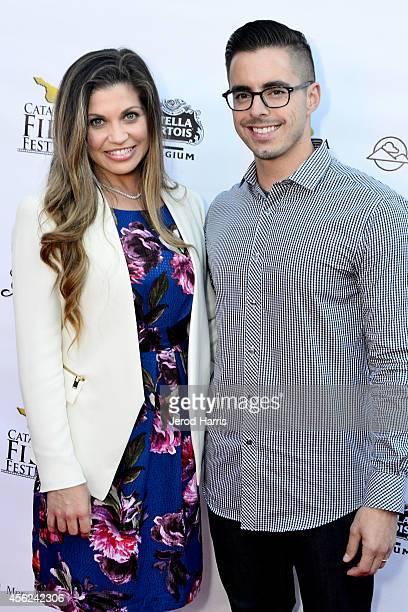 Danielle Fishel and Tim Belusko arrives at the 2014 Catalina Film Festival Premiere of 'Rudderless' on September 27 2014 in Catalina Island California