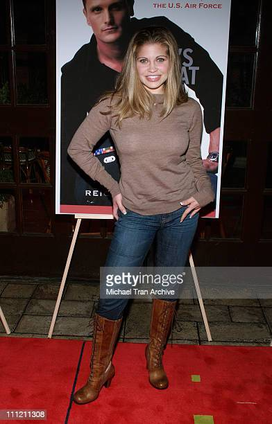 Danielle Fishel during 'Here's What We'll Say' By Reichen Lehmkuhl Book Release Party at The Abbey in West Hollywood California United States