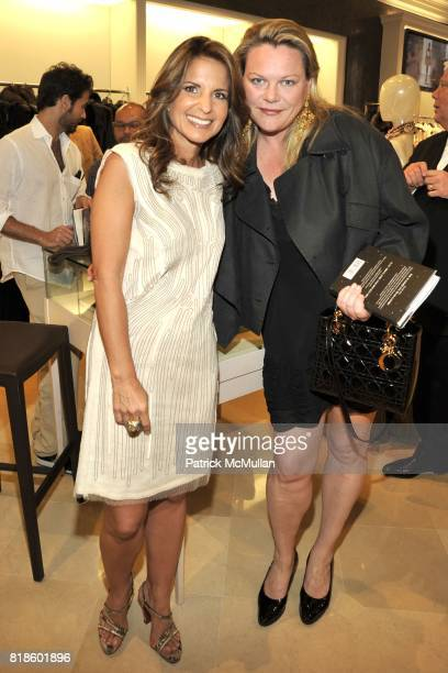 Danielle Ganek and Katharina OttoBernstein attend Book Party for THE SUMMER WE READ GATSBY by Danielle Ganek at Dennis Basso on June 2 2010 in New...