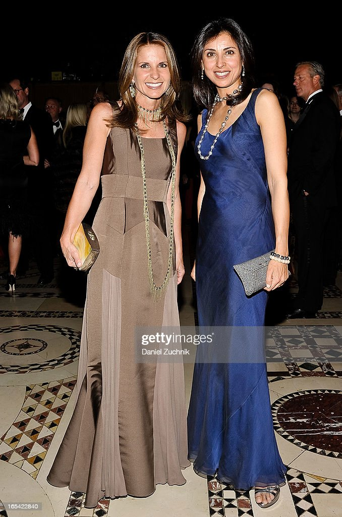 Danielle Ganek(L) attends the Lenox Hill Neighborhood House Spring Gala Benefit at Cipriani 42nd Street on April 3, 2013 in New York City.