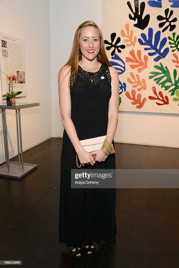 Danielle Gano attends the UNICEF NextGen Los Angeles launch at LACMA on May 9, 2013 in Los Angeles, California.