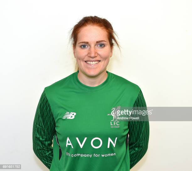 Danielle Gibbons of Liverpool Ladies during a Photocall at Select Security Stadium on June 2 2017 in Widnes England