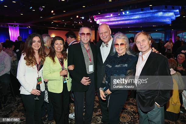 Danielle Gomes Sherry Amos Bruce Kaye Mayor Don GuardianDebra Kaye and Gary Hill attend the 14th Annual Garden State Film Festival on AprilL 1 2016...