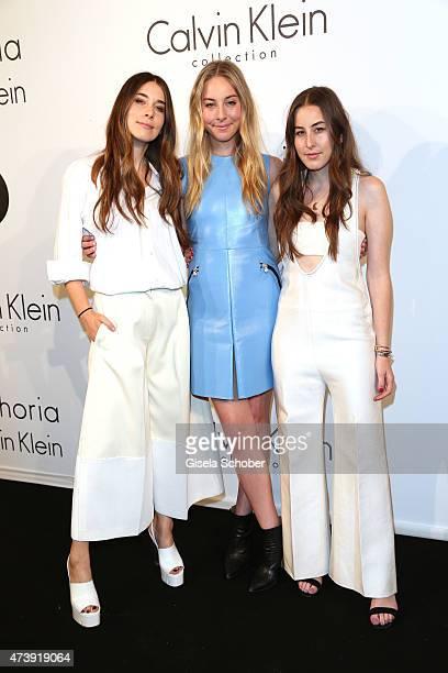 Danielle Haim Este Haim and Alana Haim attend IFP Calvin Klein Collection euphoria Calvin Klein celebrate Women in Film at the 68th Cannes Film...